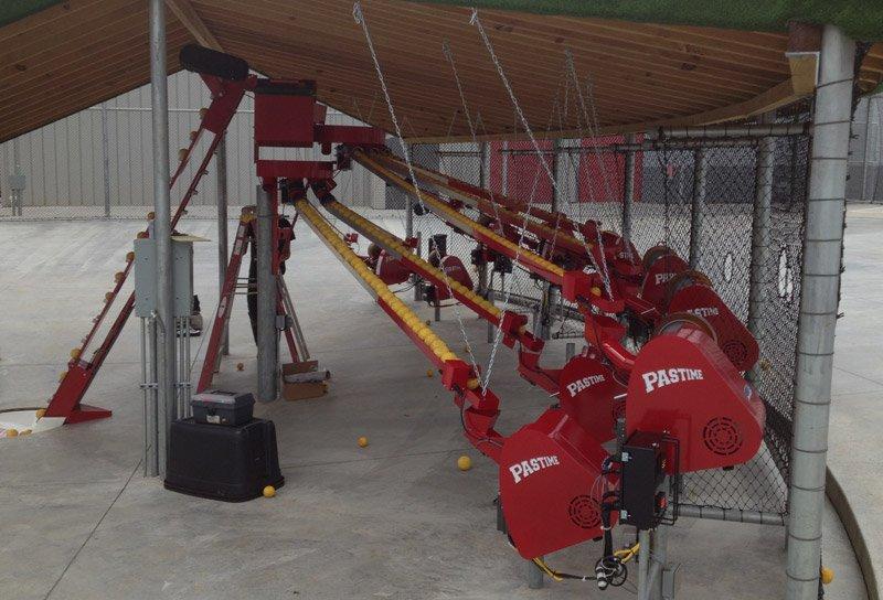 ABC pitching machines
