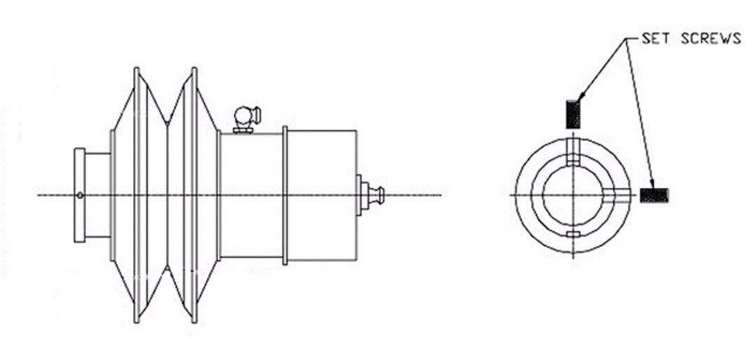 Variable speed pulley diagram