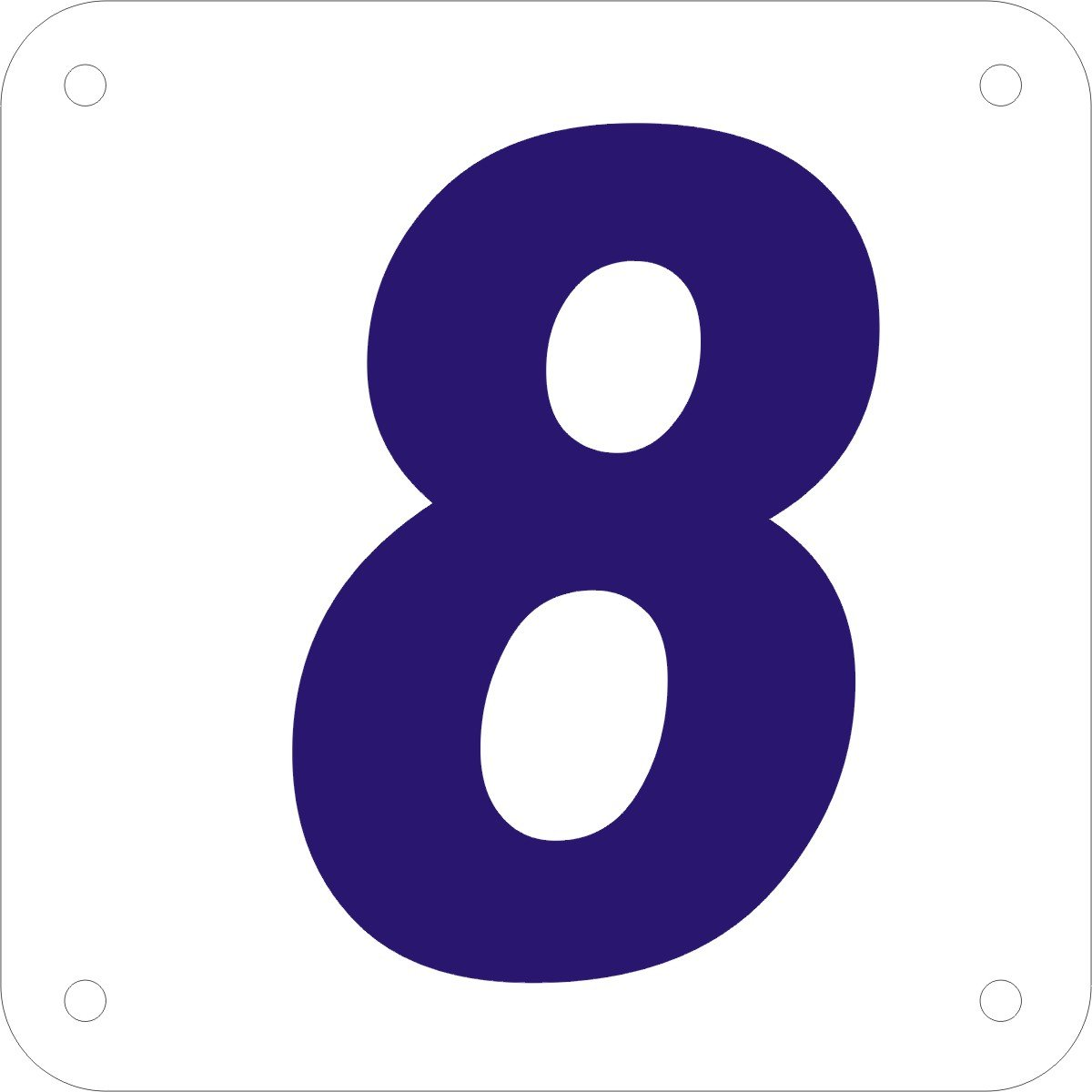 8 sign