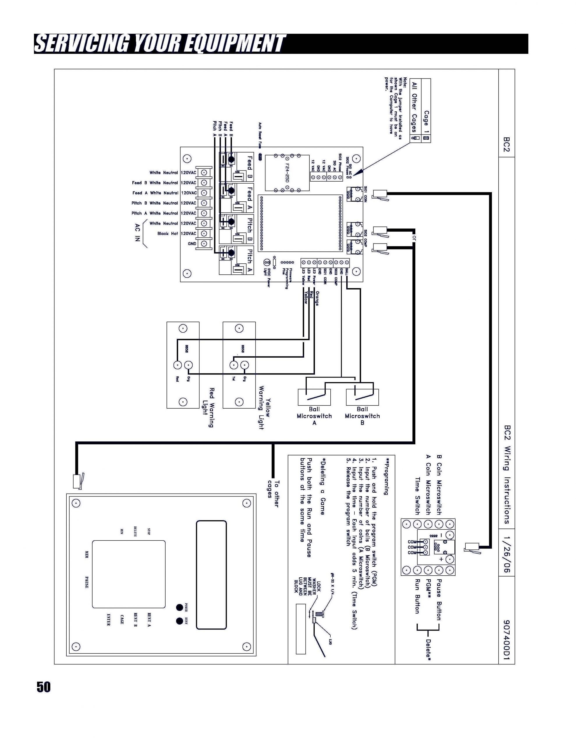 PT-7 circuit board diagram