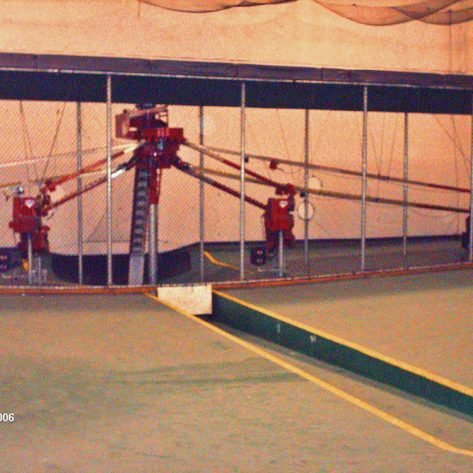 ABC indoor batting cages construction
