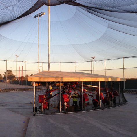 ABC outdoor batting cage