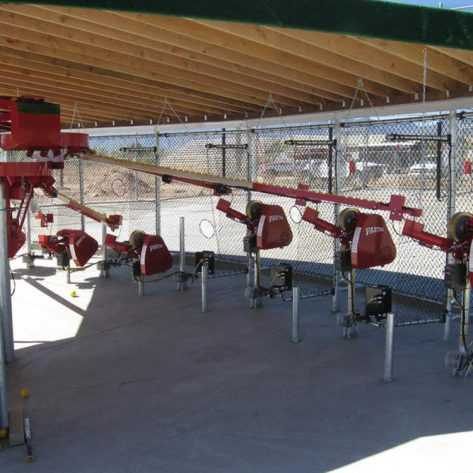 ABC pitching machines construction