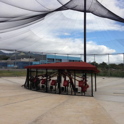 ABC outdoor batting cages