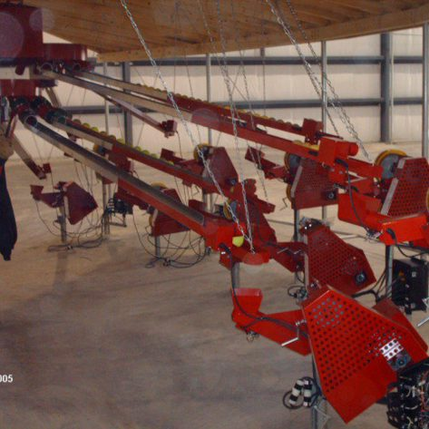 ABC indoor pitching machines