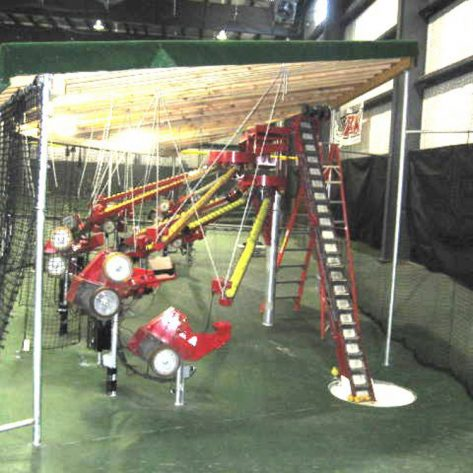 ABC indoor pitching machine system
