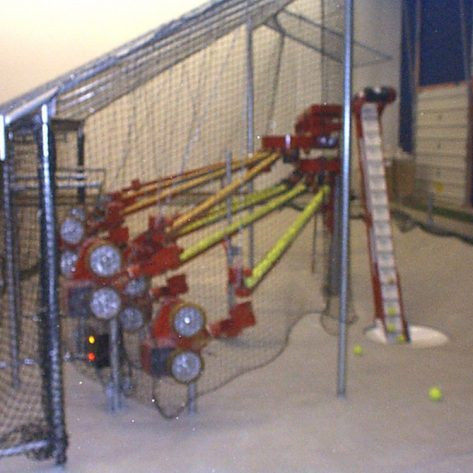 ABC pitching machine construction