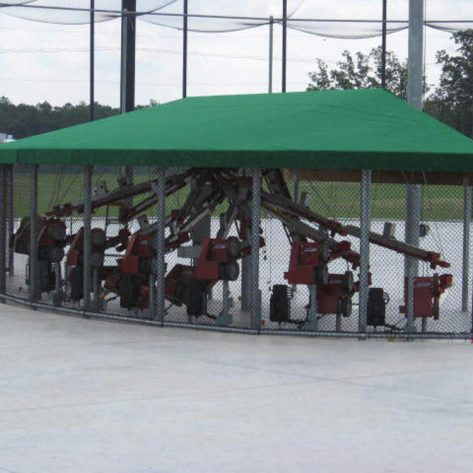 ABC pitching machine system