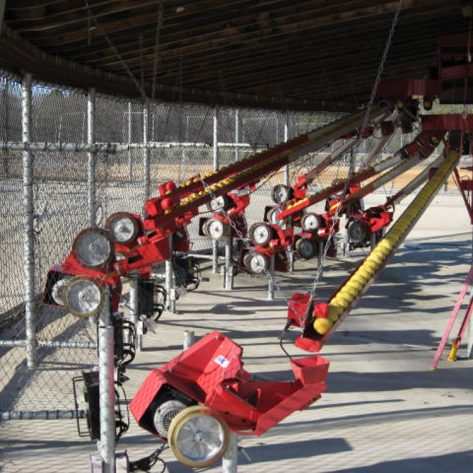 ABC pitching and conveyor systems