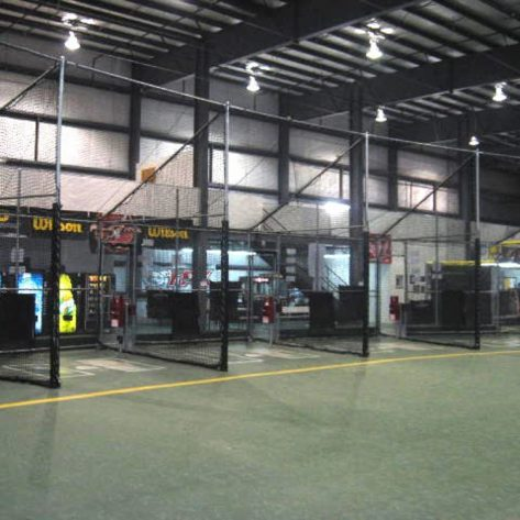 ABC indoor batting cage