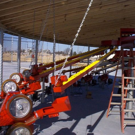 ABC pitching machine example