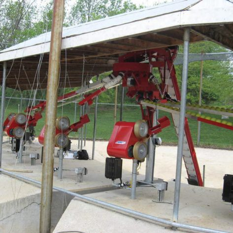 ABC pitching machines construction example