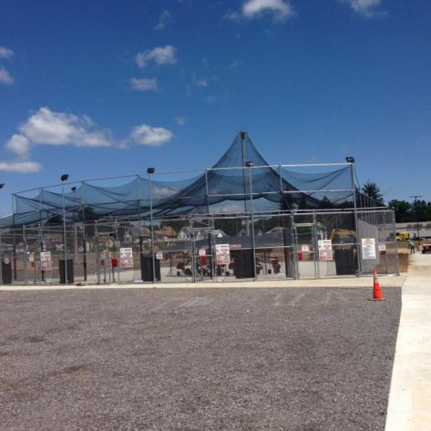 Batting cage example