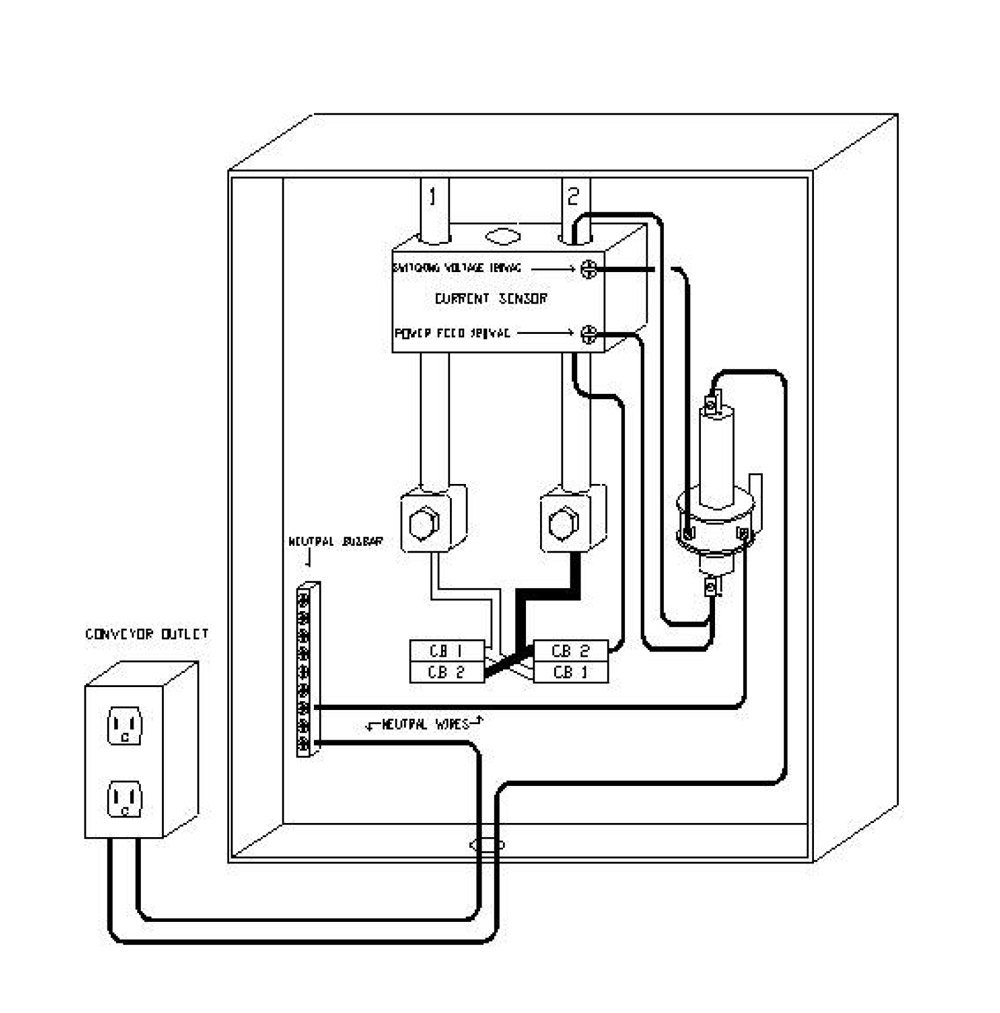 Current sensor diagram