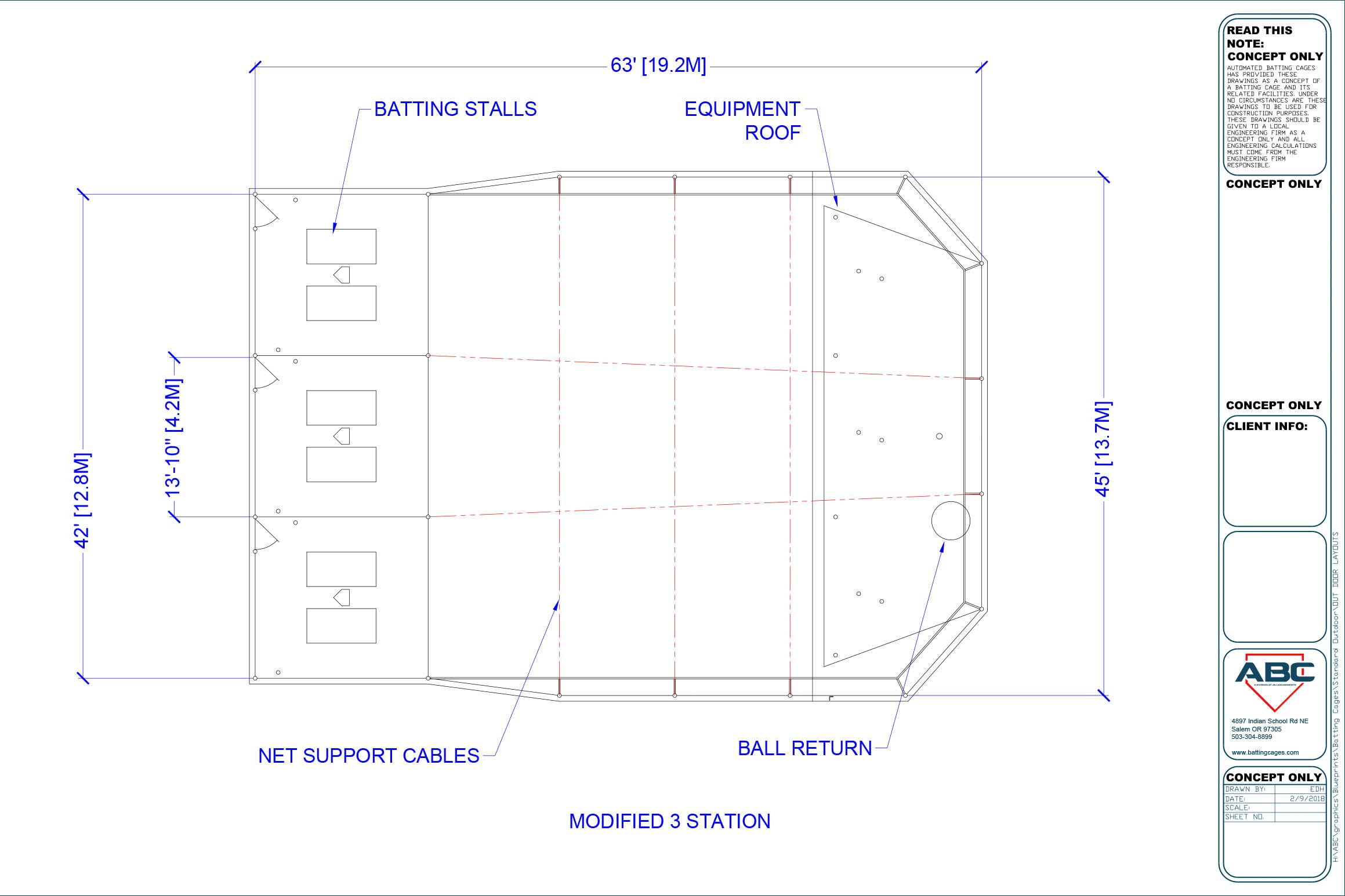 ABC modified 3 station blueprint