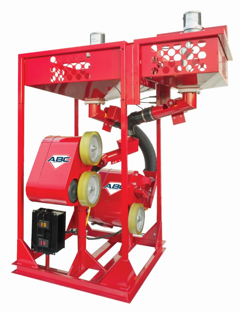 Pitching machines, Individual hopper system