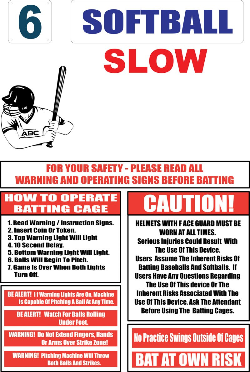 ABC Softball Slow signs
