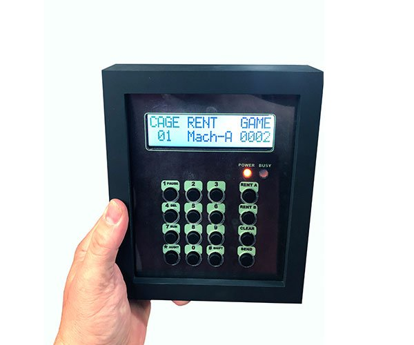 Computer control system in use