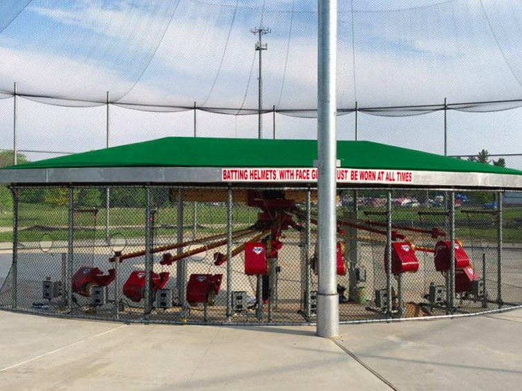 safety & durability, ABC pitching machines
